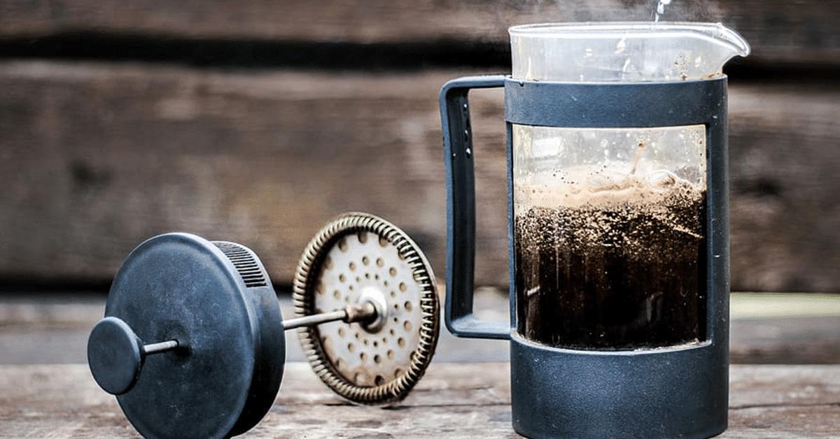 Domáca príprava kávy 2: Ako na French press